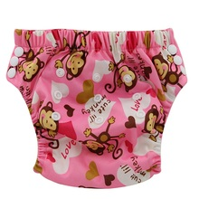 Cloth Nappy Diapers Training-Pants Potty Ohbabyka Bamboo Adjustable-Size Waterproof Absorbent
