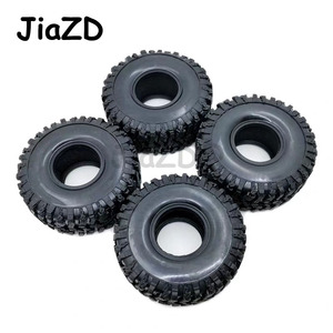 Image 4 - 4PCS 120MM 1.9INCH Rubber Rocks Tyres Wheel Tires for 1:10 RC Rock Crawler Axial SCX10 90047 D90 D110 TF2 For TRX 4 W121