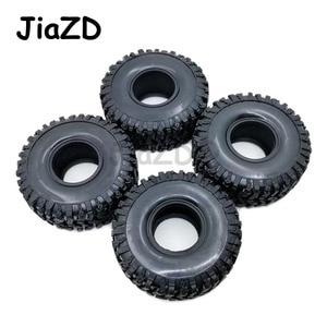 Image 4 - Neumáticos de goma para TRX 4 W121 4 Uds., neumáticos de 120MM y 1,9 pulgadas para 1:10 RC Rock Crawler Axial SCX10 90047 D90 D110 TF2