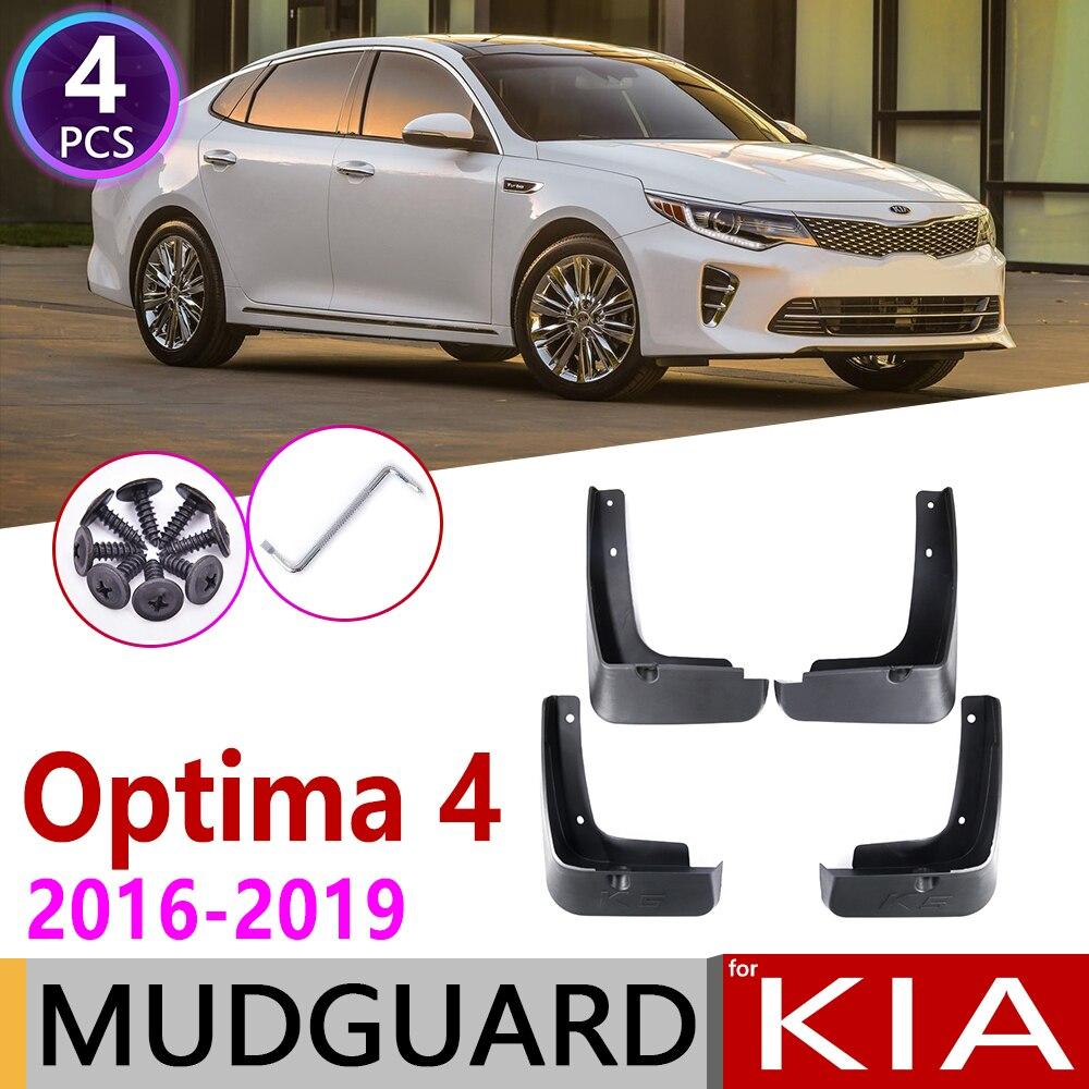 Front Rear For KIA Optima 4 K5 JF 2016 2017 2018 2019 Car Mudflaps Fender Mud Flaps Guard Splash Flap Mudguards Accessories 4th