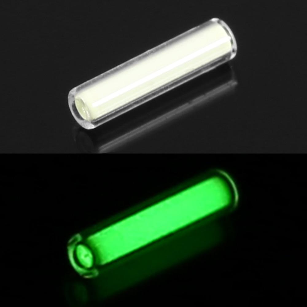 1pc 1.5*6mm Outdoor Survival Emergency Tritium Gas Light Tube Self Luminous Mini Lights Emergency Lights Automatic Glowing Tool