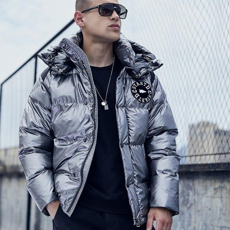 Parka Men's Winter Jacket Thick Warm Winter Jacket Coat Hooded Waterproof Snow Overcoat Men Windbreaker Cotton Parka Hombre