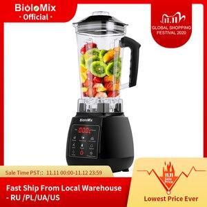 Image 1 - Цифровой 3HP BPA FREE 2L автоматический тачпад профессиональный блендер, миксер, соковыжималка высокой мощности, Кухонный комбайн, лед, смузи, фрукты