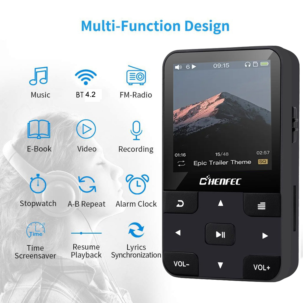 mp4 player touch
