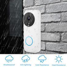 Intercom Door Bell 1080P WiFi Wireless Waterproof PIR Motion Sensor Video sonnette sans fil