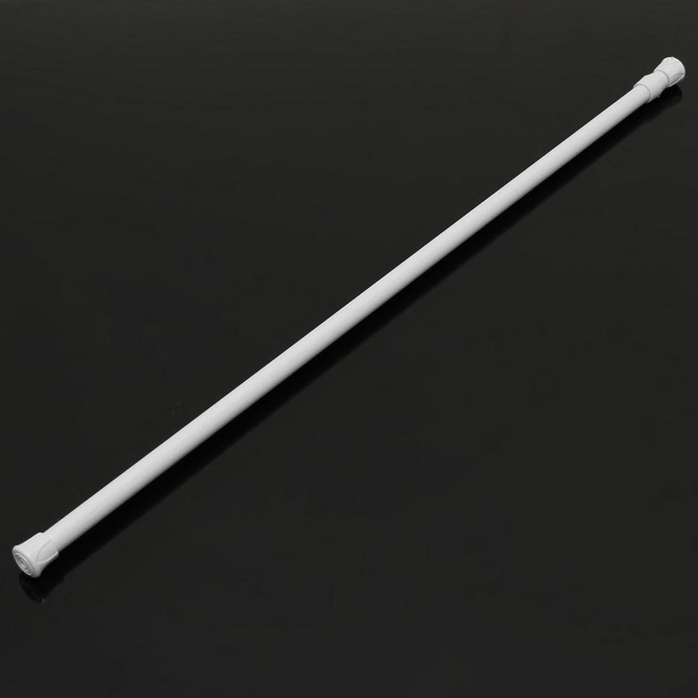 Tension Rod Window Cabinet Adjustable Curtain Rail Pole Telescopic Pole Closet Shower Extendable