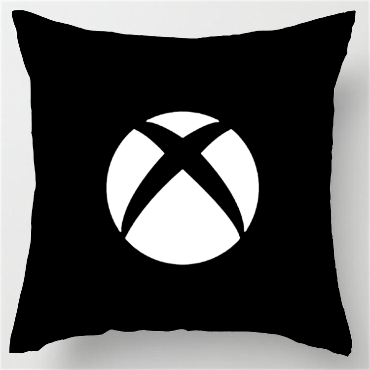 Cool Art Design Xbox Funny Vintage Style Unique Throw Pillows Square Concealed Zipper Pillowcase