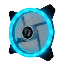 12 см Dual Aurora Dual Aperture Fan RGB Case Fan Pc Case Fan Glare Coolercase Verstelbare Компьютер Koelventilator