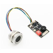 K200-3.3 панель управления отпечатком пальца+ R503 модуль отпечатков пальцев двухцветный кольцевой индикатор светильник контроль доступа
