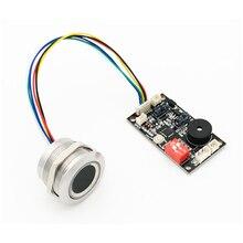 K200 3.3 kontrola dostępu do drzwi płyta sterowania odciskami palców + moduł linii papilarnych R503 dwukolorowy wskaźnik pierścienia kontrola dostępu do światła