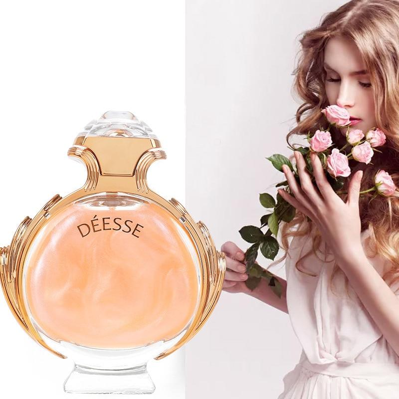 90ml Perfume Women Flower Fragrance Spray Long Lasting Atomizer Glass Bottle Lady