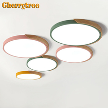 Modern LED Ceiling Lights Ultra Thin Ceiling Lamp Nordic Dimmable Livingroom Bedroom Dining Room Surface Mounted Light Fixture