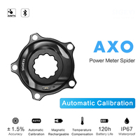 SIGEYI Bike Spider Power Meter Road MTB AXO Fit SRAM ROTOR Crank For Shimano 53/39T 52/36T 50/34T Crown Fit Round/Oval Chainring