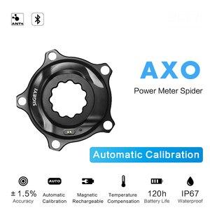 Image 1 - SIGEYI אופני עכביש כוח מטר כביש MTB AXO Fit SRAM הרוטור Crank עבור Shimano 53/39T 52/36T 50/34T כושר כתר עגול/סגלגל Chainring