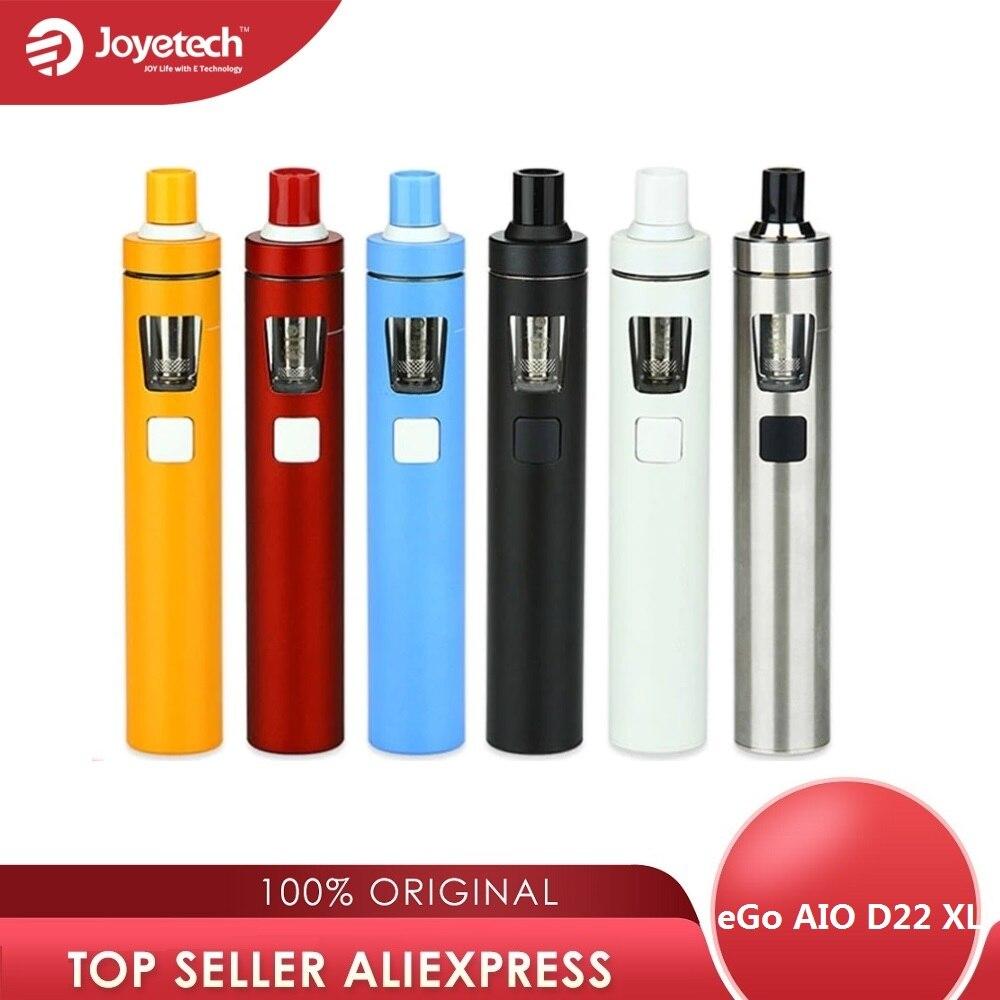 Joyetech eGo AIO D22 XL Kit de Vape 2300mah batterie 4ml réservoir tout-en-un Kit de Vape Kit de cigarette électronique Vs Ijust s Kit/ego aio