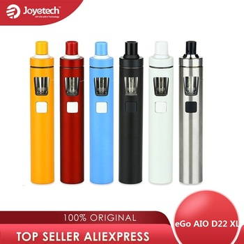 Original Joyetech eGo AIO D22 XL Vape Kit 2300mah Battery 4ml Tank All-in-one Vape Kit E cigarette Kit Vs Ijust s Kit /ego aio