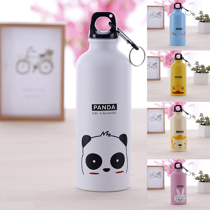 Water-Bottle Hydro-Flask Sport Animal Household Kids 500ML Cartoon Outdoor Suitable Lovely title=