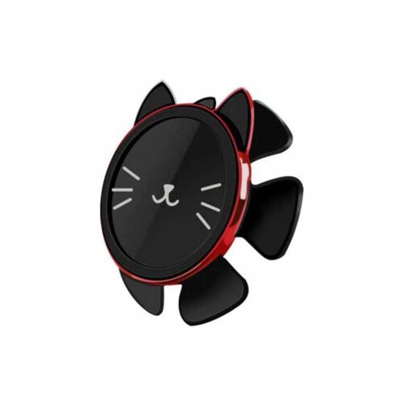 Car Steering Wheel Gravity Mobile Phone Bracket Magnetic Cute Stand Holder for Driving GV99