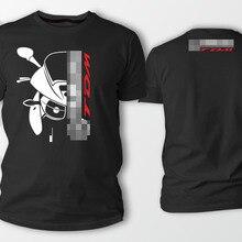 Двухсторонняя футболка Yama Tdm 900 Авто Черная Мужская футболка Летняя мужская футболка с круглым вырезом модные дешевые футболки на заказ