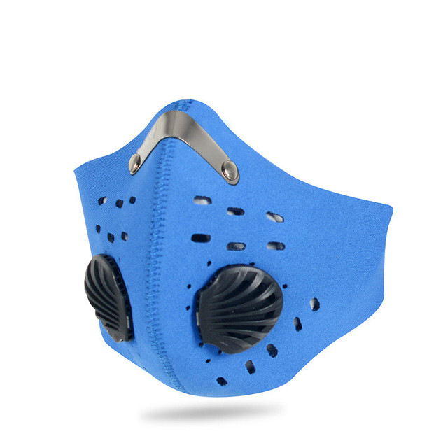 Activated Carbon PM2.5 Dust Mask Cycling Face Mask Men Women Sport Bicycle MTB Road Bike With Filter Anti-Pollution Masks 2