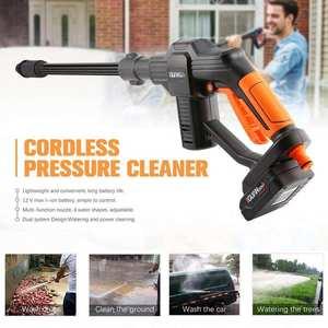 Water-Gun Car-Washing-Machine Auto-Wash-Tools Lithium-Battery-Charging Portable Wireless