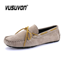 Leather Casual Shoes Men Boat Shoes Genuine Leather Men Loafers Slip On Men's Flats Soft Moccasins Driving Shoes for Male new handmade casual shoes men high quality genuine leather soft loafers moccasins slip on male flats driving shoes lazy slippers