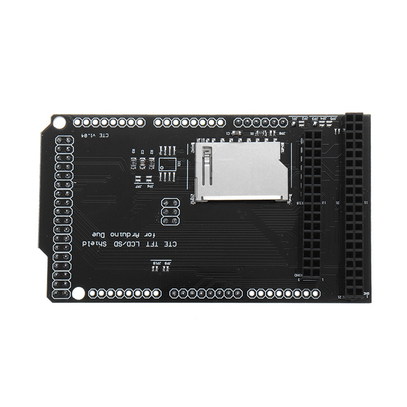 <font><b>3.2</b></font> Inch <font><b>TFT</b></font> SD Shield Expansion Board Module for <font><b>Arduino</b></font> DUE LCD Module SD Card Adapter image