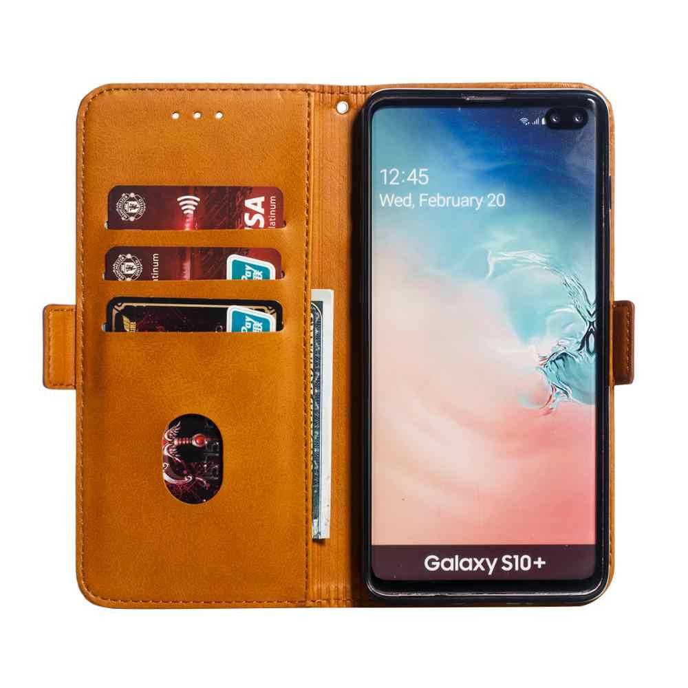 Manyetik deri telefon kılıfı Samsung Galaxy A20 S A10 E A30 S A40 A50 S A51 A60 A70 A71 kılıf kapak cüzdan standı kapak kılıfları