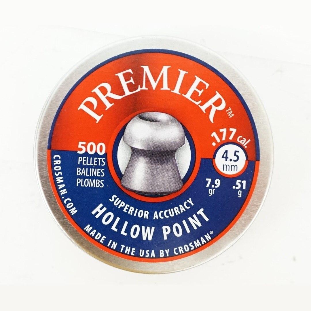 Пули Crosman Premier Hollow Point (4,5 мм, 500 шт, 0.51гр)|Пейнтбол| | АлиЭкспресс
