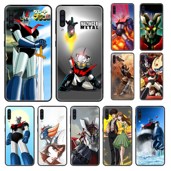 Anime Grendizer G5 Phone case For Samsung Galaxy A 3 5 8 9 10 20 30 40 50 70 E S Plus 2016 2017 2018 2019 black tpu cell cover image