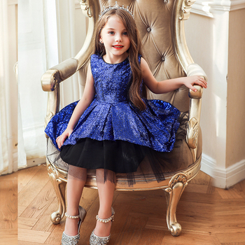 Evening Wedding Gown Tutu Princess Lace  Dress Flower Girls Children Clothing Kids Party For Girl Clothes 2016 summer baby flower girls lace princess dress children lolita style party tutu dresses girl pink floral dress kids clothes