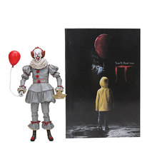 NECA Pennywise ItของStephen King Pennywise Joker Clown Neca Predator Neca Alien Jokerรูปของเล่นตุ๊กตา18ซม.(China)