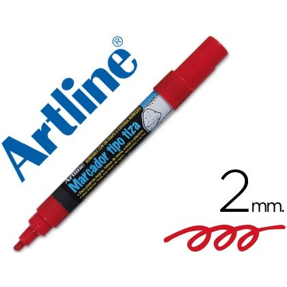 MARKER ARTLINE SLATE GREEN BLACK EPW-4-RO RED BAG DE 4 COLOR MARKERS