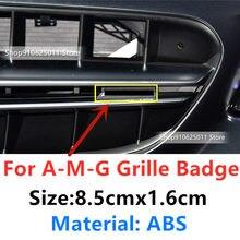 1 pçs grade dianteira emblema para benz amg a c e s classe cla cls g a45 e63 x156 w212 w213 w204 w205 emblema estilo do carro acessórios