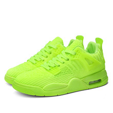 Green Platform Sneaker Men Classic Summer Shoes Non-slip Casual Men's Shoes Breathable Male Flat Footwear Zapatillas Hombre(China)