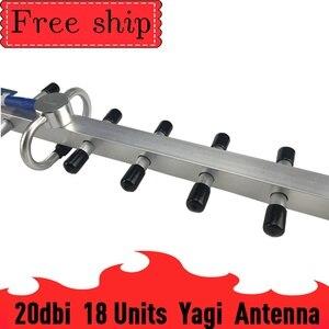 Image 3 - Antena Yagi externa para exteriores, 2g, 3g, 4g, 20dBi Gain, 700 2700mhz, 3G, 4g Lte, con N hembra