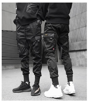 2020 Men overalls Banded Pants Male Tide Brand Function Tactic Paratroopers Overalls Youth Leisure Fashion Casual Trousers Jogge