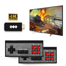 Y2 HD/Pro 4K Wireless Handheld TV Video Game Console 8Bit Mini Game Player Build-in 568/600 Classic Games Support AV/HDMI Output