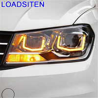 Drl Luces Para Auto Daytime Running Lights Led Automobiles Lamp Exterior Car Lighting Headlights 16 17 FOR Volkswagen Santana