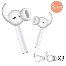 Drop Resistance Improved Bluetooth Earphone Eartips Cover In-Ear Silicone Case with Ear Groove Earbu