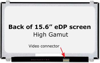15 6 inch led lcd screen for dell precision 7510 7520 3510 0r52wf wuxga fhd 1920 1080 ips display non touch New Screen Replacement for LTN156HL01-101, FHD 1920x1080, High Gamut, IPS, Matte, LCD LED Display