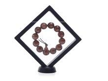 Прозрачный ювелирные изделия дисплей подвесной плавающий держатель чехол ювелирные изделия упаковка коробка кольцо драгоценные камни браслет комбинезон дисплей украшения подставка