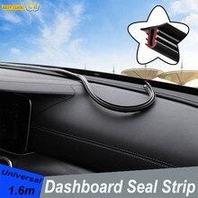 Auto Schalldichte Gummi Dichtung Dashboard Windschutzscheibe Abdichtung Streifen Einsatz Für Toyota Prado RAV4 Corolla Camry Sienna Yaris Prius