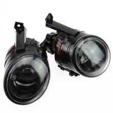 Scjyrxs 55 Вт 9006 заглушка переднего бампера выпуклая линза