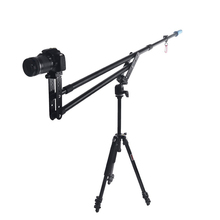 Portable DSLR Mini Jib Video Camera DV Crane Jibs Rocker Arm Extention Up to 6kg with Bag
