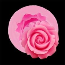 4YANG Rose Flowers Chocolate Wedding Cake Decorating Tools DIY Baking Fondant Silicone Mold Clay Resin Sugar Candy Fimo Sculpey стоимость