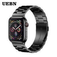 UEBN Metal Classico In Acciaio Inox Banda per Apple Serie di orologi 4 3 2 1 del Cinturino Della Cinghia per iWatch 40 millimetri 44 millimetri 42 millimetri 38 millimetri cinghia