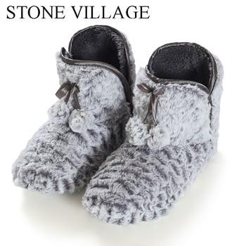 2020 Home Slipper Women Fleece Slippers For Women Indoor Slippers Women Cute Ball Non-slip Indoor Shoes Women Size 36-41