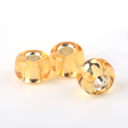 Pearls Of Seed Glass 2mm Hole Silver Orange 20g 12//0