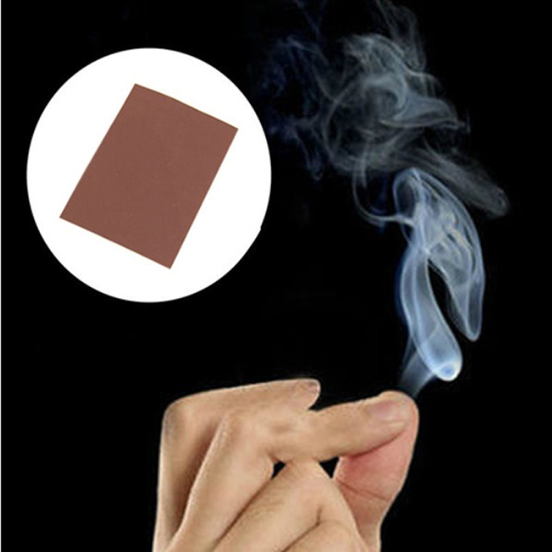Magic Smoke Finger Magic Props Hand Rub Smoke Empty Out of Smog Super Cool Toys Mysterious Hand Out Smoke Magic Tips Kids